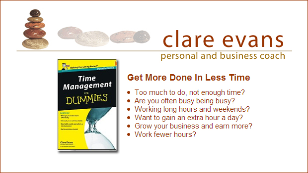 Clare Evans - time management for dummies