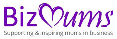 BizMums logo - supporting mums in business